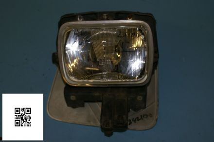 1984-1996 Corvette C4 RH Headlight Assembly GM 16500354 Housing 10137734 Lid (Colours May Vary), Used Fair